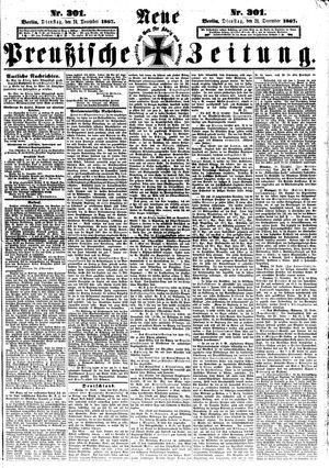 Neue preußische Zeitung vom 24.12.1867