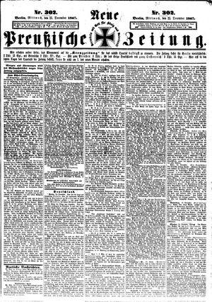 Neue preußische Zeitung on Dec 25, 1867