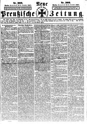 Neue preußische Zeitung vom 28.12.1867