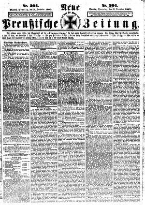 Neue preußische Zeitung vom 29.12.1867