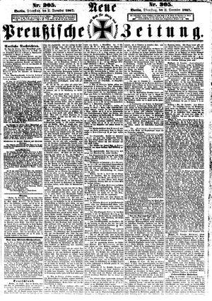 Neue preußische Zeitung vom 31.12.1867