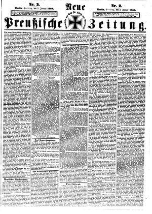 Neue preußische Zeitung vom 03.01.1868