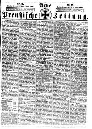Neue preußische Zeitung vom 11.01.1868