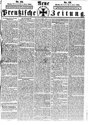 Neue preußische Zeitung vom 15.01.1868