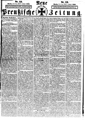 Neue preußische Zeitung vom 17.01.1868
