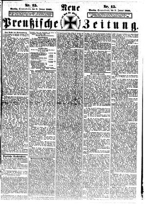 Neue preußische Zeitung vom 18.01.1868