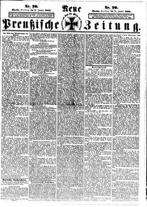 Neue preußische Zeitung on Jan 24, 1868