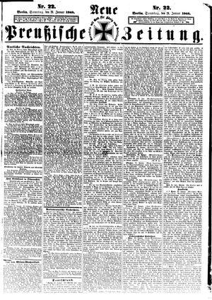 Neue preußische Zeitung vom 26.01.1868