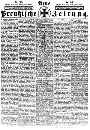 Neue preußische Zeitung vom 30.01.1868
