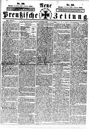 Neue preußische Zeitung vom 04.02.1868