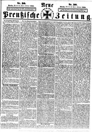 Neue preußische Zeitung vom 05.02.1868
