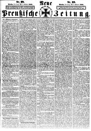 Neue preußische Zeitung vom 07.02.1868