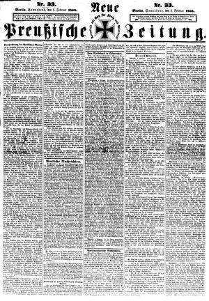 Neue preußische Zeitung vom 08.02.1868