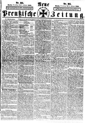 Neue preußische Zeitung vom 11.02.1868
