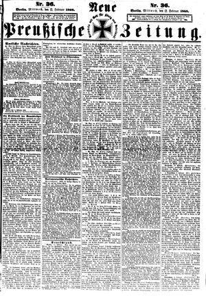 Neue preußische Zeitung vom 12.02.1868