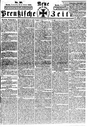 Neue preußische Zeitung vom 13.02.1868