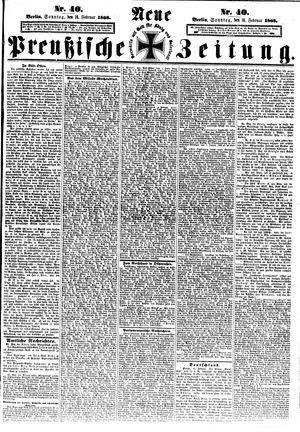 Neue preußische Zeitung vom 16.02.1868