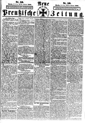 Neue preußische Zeitung vom 28.02.1868