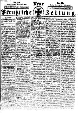 Neue preußische Zeitung vom 03.03.1868