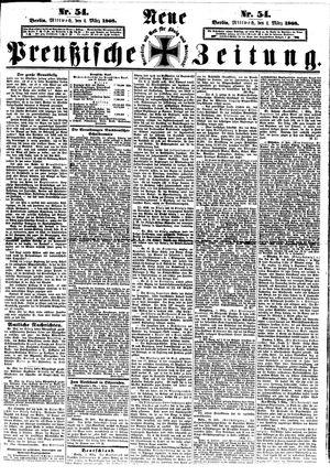Neue preußische Zeitung vom 04.03.1868