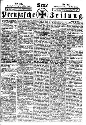 Neue preußische Zeitung on Mar 5, 1868