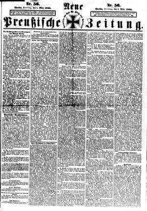 Neue preußische Zeitung vom 06.03.1868