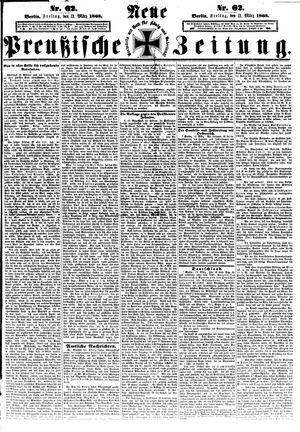 Neue preußische Zeitung vom 13.03.1868