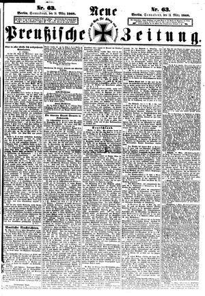 Neue preußische Zeitung vom 14.03.1868