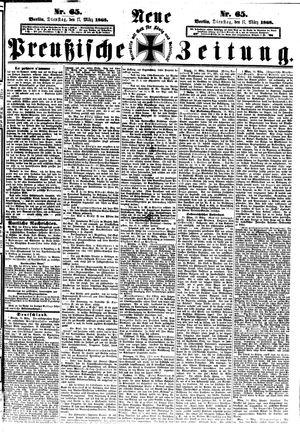 Neue preußische Zeitung vom 17.03.1868