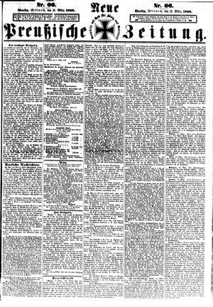 Neue preußische Zeitung vom 18.03.1868