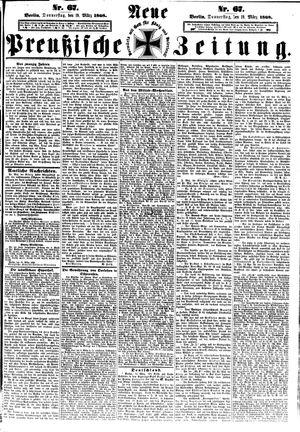 Neue preußische Zeitung vom 19.03.1868