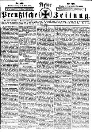 Neue preußische Zeitung vom 20.03.1868