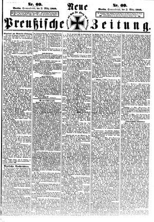 Neue preußische Zeitung vom 21.03.1868