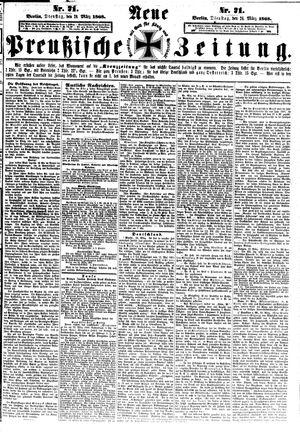 Neue preußische Zeitung vom 24.03.1868