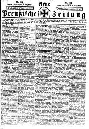 Neue preußische Zeitung vom 26.03.1868