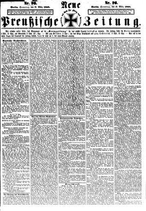 Neue preußische Zeitung vom 29.03.1868