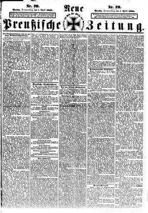 Neue preußische Zeitung vom 02.04.1868
