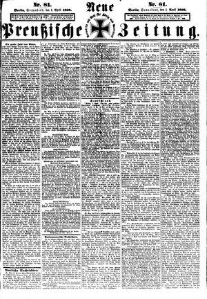 Neue preußische Zeitung vom 04.04.1868