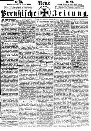 Neue preußische Zeitung vom 05.04.1868