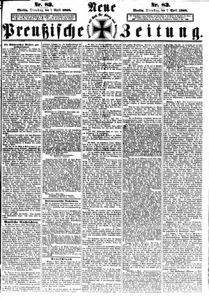 Neue preußische Zeitung vom 07.04.1868