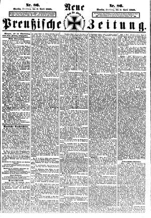 Neue preußische Zeitung vom 10.04.1868