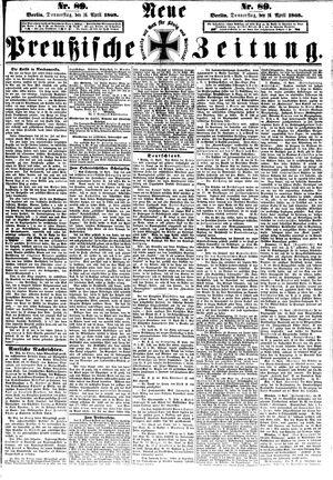 Neue preußische Zeitung vom 16.04.1868