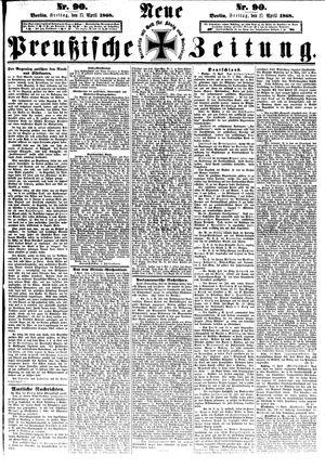 Neue preußische Zeitung vom 17.04.1868
