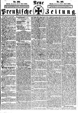 Neue preußische Zeitung vom 19.04.1868