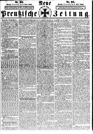 Neue preußische Zeitung vom 23.04.1868
