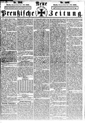 Neue preußische Zeitung vom 02.05.1868