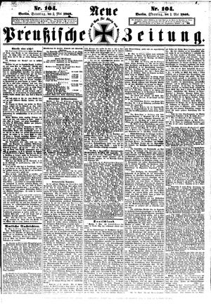 Neue preußische Zeitung vom 03.05.1868