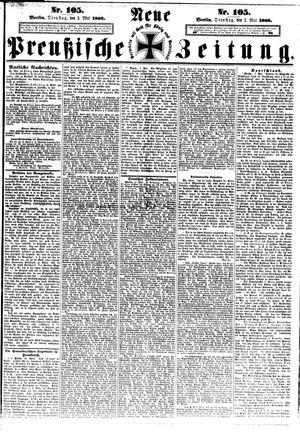 Neue preußische Zeitung vom 05.05.1868