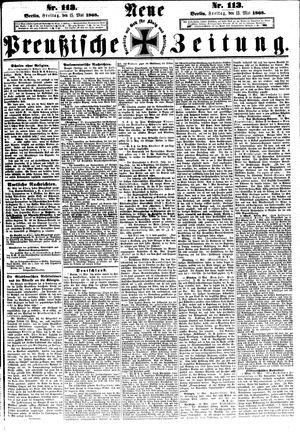 Neue preußische Zeitung vom 15.05.1868