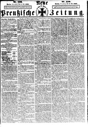 Neue preußische Zeitung vom 19.05.1868